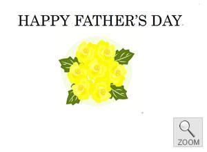 ギフト用メッセージカードfather's day 父の日