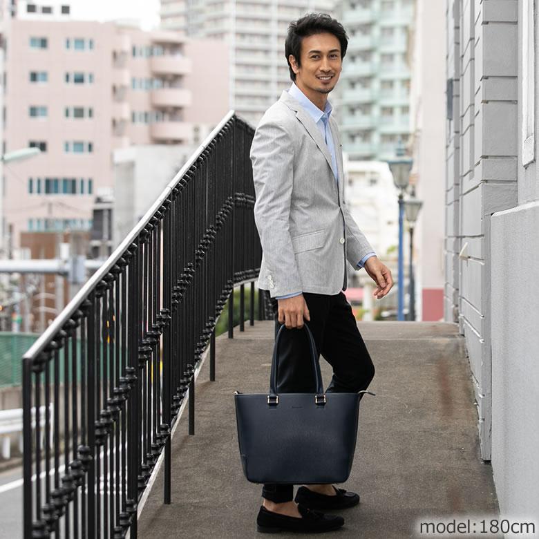トートバッグメンズブランド 小さめ おしゃれ 大学生 ビジネス かっこいい 大人 通勤 バッグ 肩掛け 高級 170cm以下 160cm台 低身長バッグ