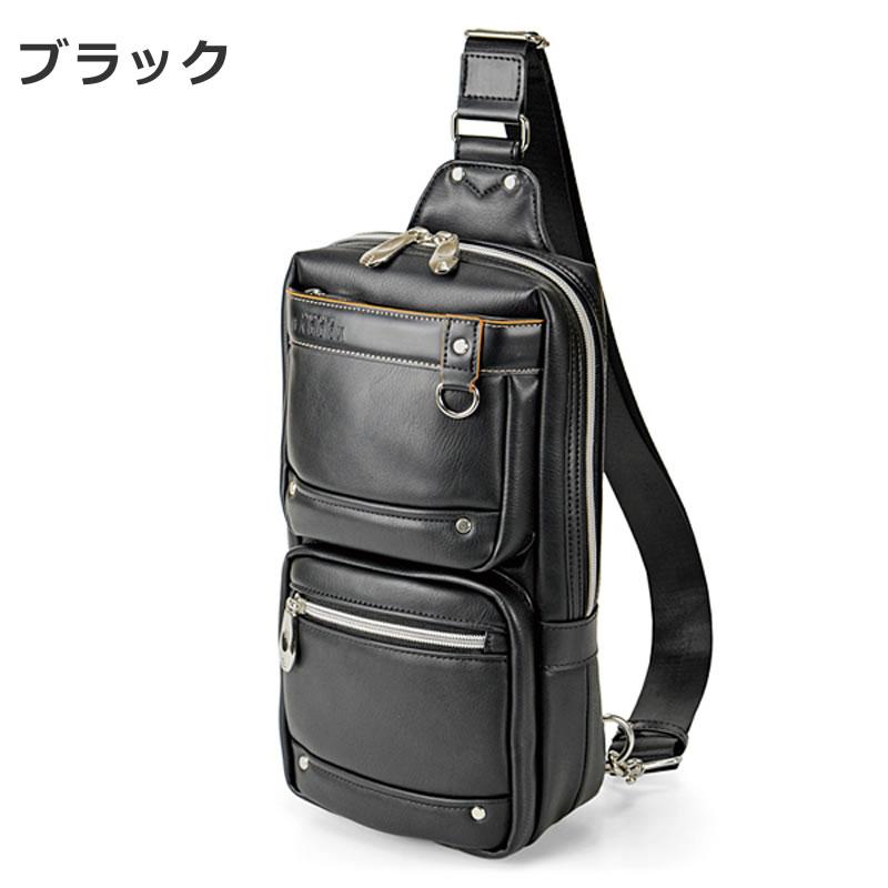 ボディバッグ メンズ ブランド 40代 30代 コンパクト 20代 人気 ワンショルダー カジュアル 斜めがけ 豊岡鞄 コーデ 大きめ 斜めがけバッグ レザー 合皮 黒 ブラック クロ くろ
