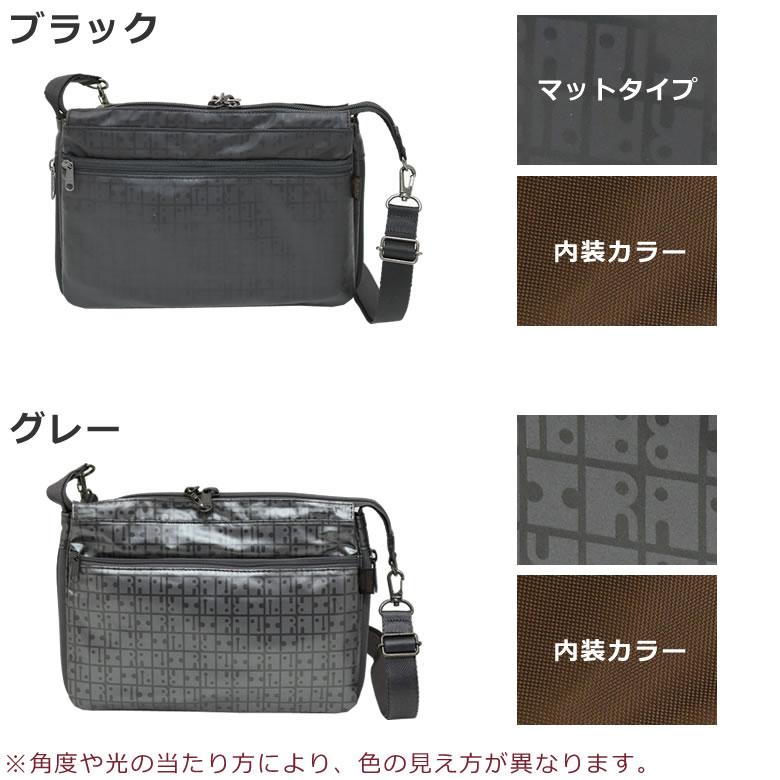 ヤマト屋 バッグ ショルダーバッグ レディース ブランド 斜めがけ 軽い ナイロン おばあちゃん 80代 シニアバッグ ブラック 黒 くろ クロ グレー ぐれー 灰色