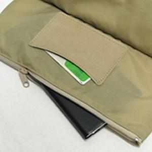 ショルダーバッグ貴重品ポケット