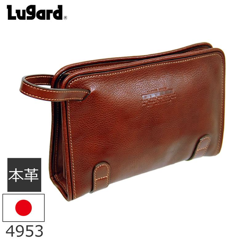 83b3f18710ce メンズ セカンドバッグセカンドバッグ フォーマルバッグ 本革 日本製 Lugard Nevada 牛革 メンズ◇4953