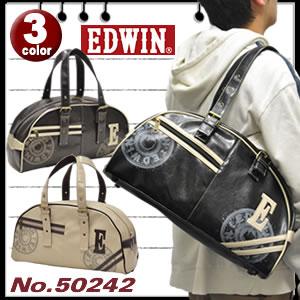 EDWIN ボストンバッグ