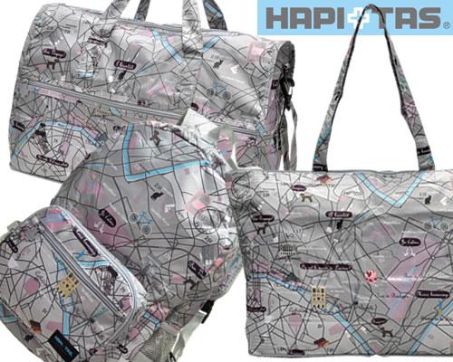 HAPI+TAS エコバッグ(マルシェグレー)