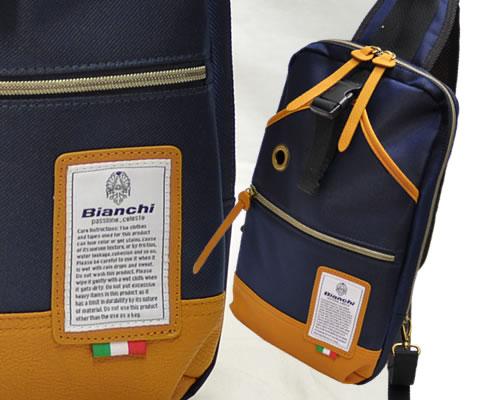 Bianchi ビアンキ ボディバッグ新色登場♪