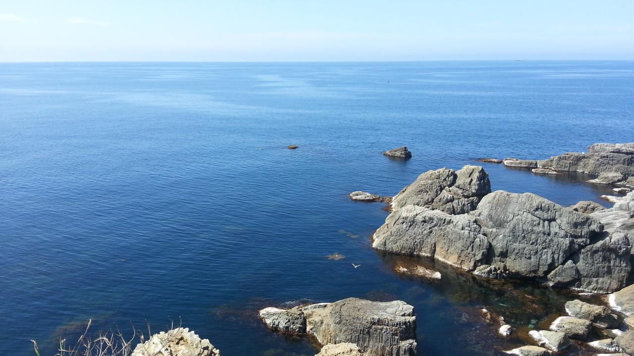 島根半島の西端