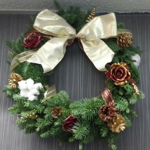 20131208_161055クリスマス リース作り2013