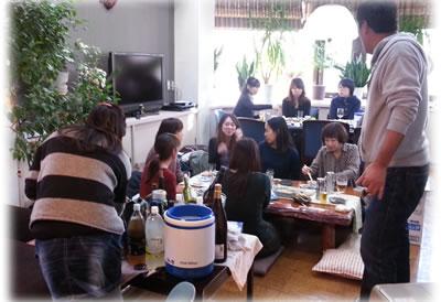 今年最後のスタッフ昼食会&納会2013 お疲れ様でしたー