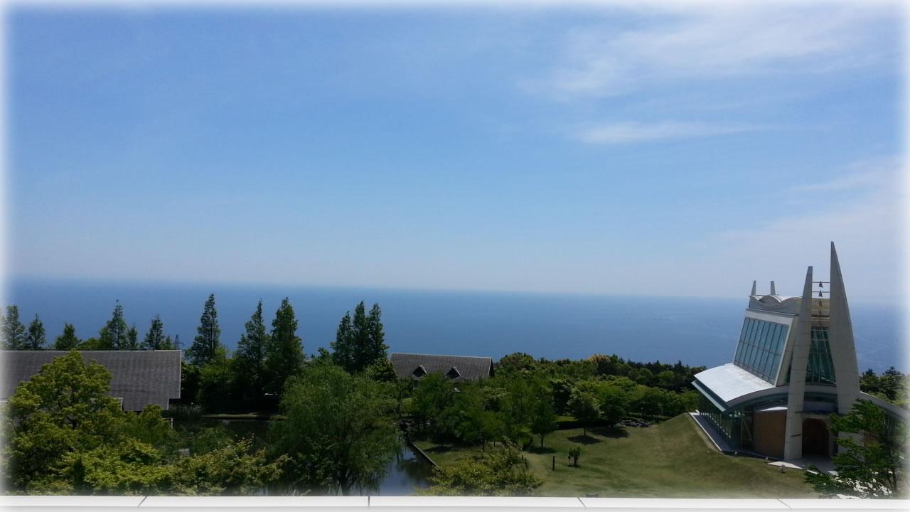 駿河湾を望む小田原 根府川からの眺め
