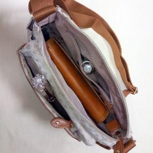 クリスチャンオリビエショルダーバッグおばさんポケット