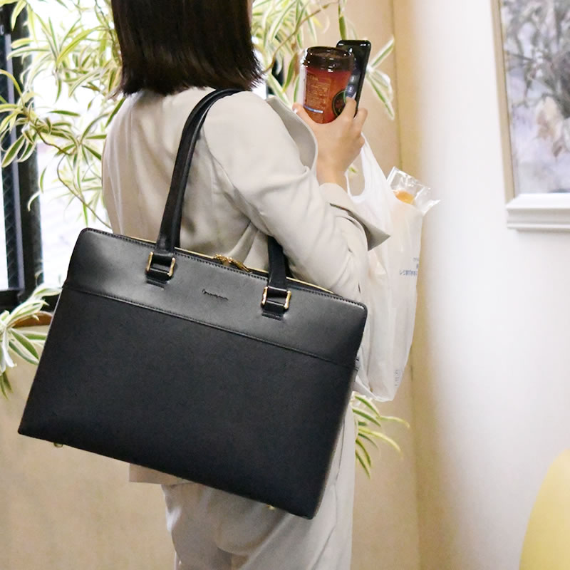 目々澤鞄新作レディースビジネストートバッグ
