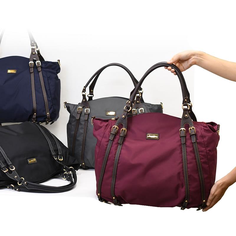 目々澤鞄 大人女性の休日ボストンバッグ1412533
